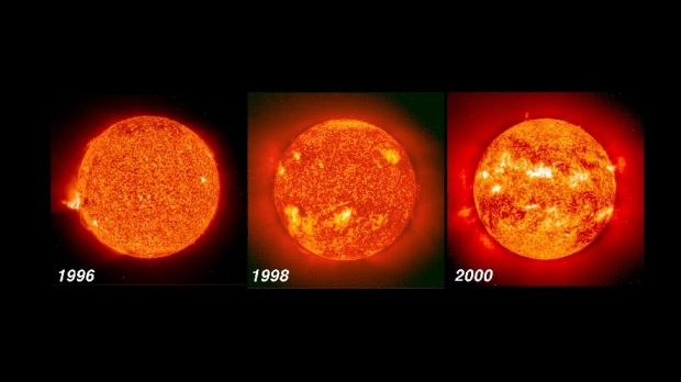 New model of sun's cycles pred...