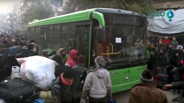 Aleppo is now a synonym for hell': Thousands stranded as evacuations