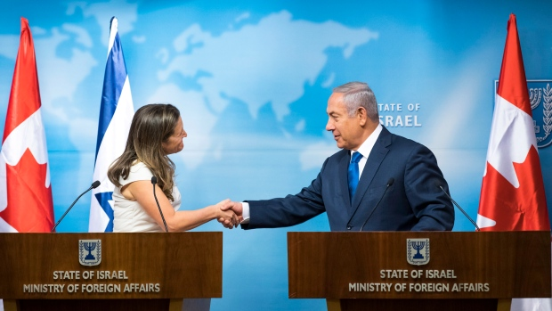 Freeland affirms 'ironclad' support of Israel following