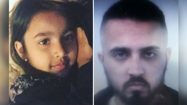 Amber Alert issued for missing 5-year-old girl in the